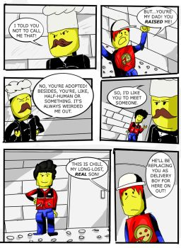 Lego Island Issue One, Page Three by Go-Faster-Wings
