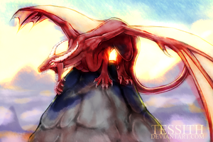 Bringer of a new dawn by Tessith