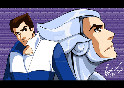 SILVERHAWKS: QUICKSILVER by hanukara
