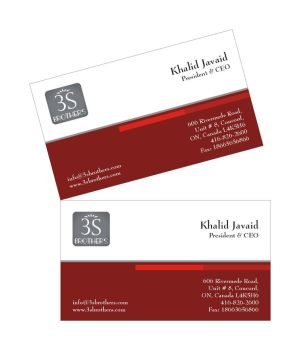 3s Brothers Business Card by asaleem