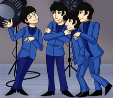 The Beatles cartoon (REMAKEEEEEEE(?) by Nicky42