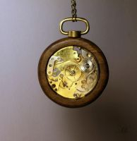 Steampunk pendant 44 by TheCraftsman
