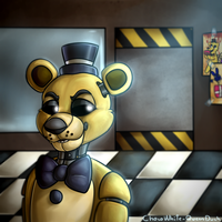 Golden Freddy by Julynnx