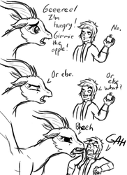 Random Dragon Queen Comic??? by InkRose98
