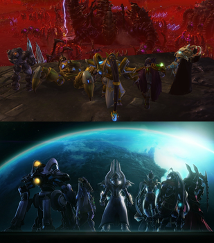 StarCraft 2: Legacy of Aiur by DefilerRulez91