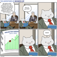 The Adventures of Business Cat - Proposal by tomfonder