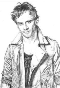 Michael Fassbender by Claire-Elise17