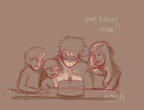 Happy Birthday Kakashi! by DueniosdeNada