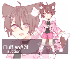 [CLOSED_AUCTION] Fluffian#01 by Himetochan