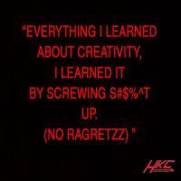 Inspirational quotes on creativity by HKC by hunterknightcustoms