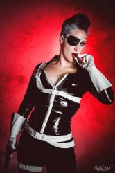 Nick Fury Gender Bender by SuperPopette