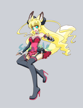 Kitsune Girl Adopt: (Open) by HotokoTenshi