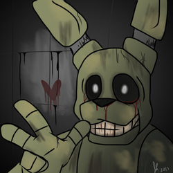 ( FNaF 3 ) The Fazbear Fright by froggsalt