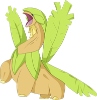 Shiny tropius by Puraveon