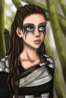 Lexa - The 100 by Yrya-chan