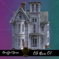 Old House 01 by CntryGurl-Designs
