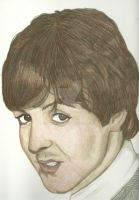 Young Paul McCartney In Color by donna-j