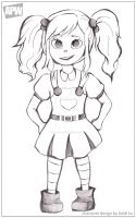 APW Character Design- frontview by AngelsMelodie