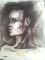 Le guy airbrush exercise by StereoiD