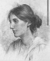 Virginia Woolf by greyfin