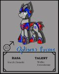 MLP Optimus Prime by Aiclo