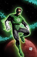 Green Lantern by RossHughes