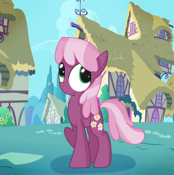 Cheerilee Standing Alone and Stuff by Mr-Degration