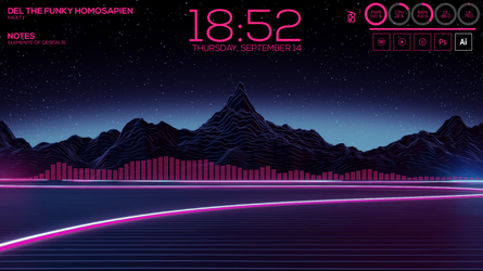 Pink Synth 1.0 - Rainmeter by rBlackHart