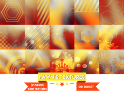 Icon Texture Pack #5: Sunset by fawngeneva