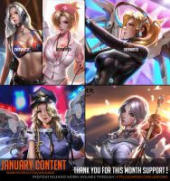 January Content complete ! by Liang-Xing