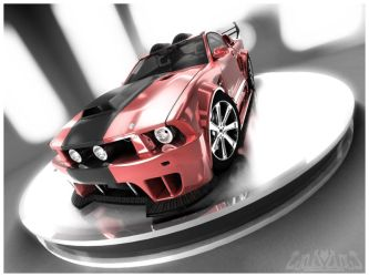 Mustang GT Red Edition by CanisLoopus