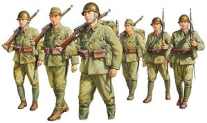 Imperial Japanese Army Marching by saudixjapan