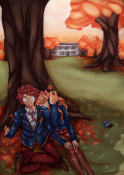 Nalu: Autumn by shadoouge