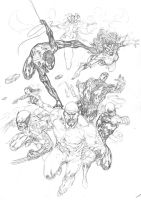 New Avengers Assemble by SpiderGuile
