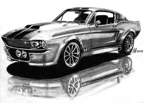Ford Mustang by M-J-M-A