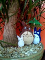 Totoro totoros by picklelova