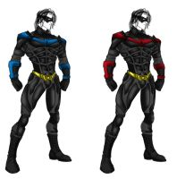 Nightwing, Dark Knight Rises inspired by randomality85