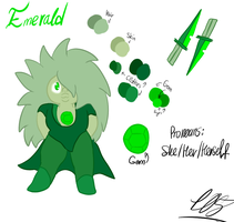 Emerald Redesign by Foziz105