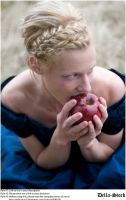 Snow White Likes Apples by Della-Stock