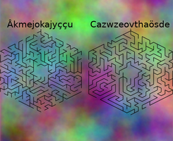 Topological mazes, layer 2 by Jakeukalane