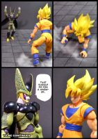 Cell vs Goku Part 1 - p11 by SUnicron