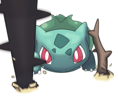 BOOYAAa-...Bulbasaur by tsarinvisible