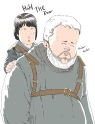 Hodor by wingwingwingwing