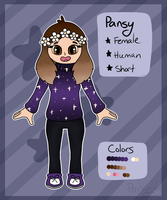 Pansy (Human) Ref by Pansetta