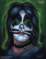 PETER CRISS - Kiss by The-Art-of-Ravenwolf