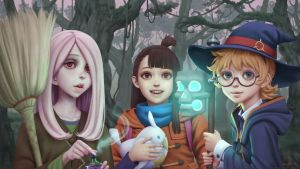 [Little Witch Academia] fanart by Apegrixs