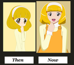 Kise Yayoi - Then / now - who is better? by kasumaky