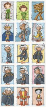 x-men archives 4 by katiecandraw