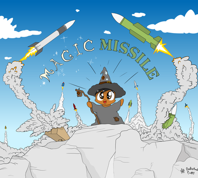 Puppy - MAGIC MISSILE by ProfessionalPuppy