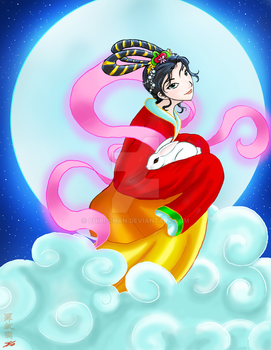 Lady of the Moon by chiri-chan